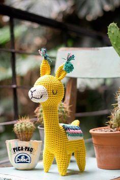 Crochet Diy, Crochet Amigurumi, Love Crochet, Amigurumi Patterns, Crochet Dolls, Crochet Patterns, Crochet Geek, Alpacas, Crochet Animals