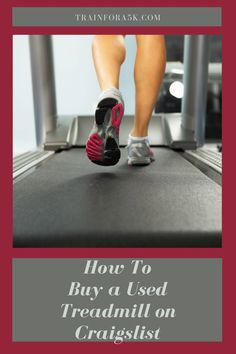 Our guide to safely buying a treadmill from craigslist. Craigslist is a great place to find a used treadmill. Running Plan, Running Tips, Beginner Running, Treadmill Workouts, Running On Treadmill, What If Questions