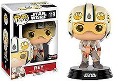 Funko Pop! Star Wars Rey #119 (With X-Wing Helmet Exclusive)