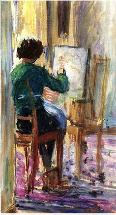 La verdadera pasión de TOOODA mi vida fue siempre ¡pintar!....(ni modo, no hubo opoción de estudiar) gracias, de cualquier forma....pero alma de artista ¡sí tengo!