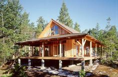 House Plans - Home Plan Details : Timber Cabin
