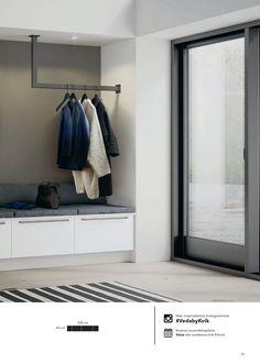 Vaatekaapit ja säilytysratkaisut 2016 - New Ideas Luxury Bedroom Design, Home Room Design, House Design, Interior Design, Garderobe Design, Porch Storage, Living Room Decor, Bedroom Decor, Flur Design