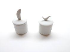 Mini boite en porcelaine en vente sur www.bienvenuechezvous.biz