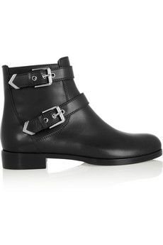Gianvito Rossi Leather ankle boots | NET-A-PORTER