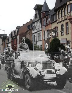 Ww2 Photos, German Army, Then And Now, World War Two, Ghosts, Wwii, Whiskey, Germany, Politics