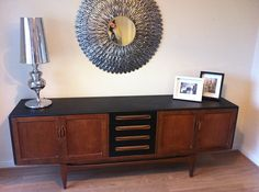 Original 1960s GPlan sideboard upcycled . £395.00, via Etsy.