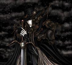 Midnight by *Irulana on deviantART (Vampire Hunter D inspired)