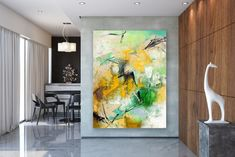 Items similar to Large Modern Wall Art Painting,Large Abstract wall art,texture art painting,colorful abstract,office wall art on Etsy Large Abstract Wall Art, Large Canvas Art, Gold Canvas, Canvas Canvas, Acrylic Canvas, Texture Painting, Large Painting, Texture Art, Painting Canvas