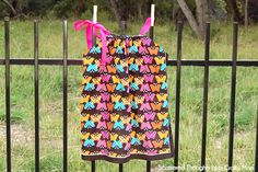 Scattered Thoughts of a Crafty Mom: How to make a Pillowcase Dress without Sewing