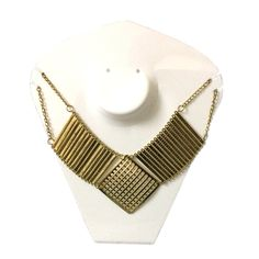 Rez+steh #classy #Designer #PartyWear #Golden #Alloy #Goldenplated #Necklace