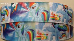 Check out this item in my Etsy shop https://www.etsy.com/listing/192826308/1-my-little-pony-ribbon-3-yards-new