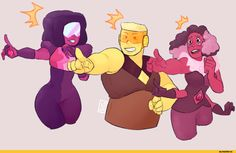 (But I think you're just mad cuz you're single.) Steven universe,фэндомы,Steven (SU),SU Персонажи,Pearl (SU),Amethyst (SU),Garnet (SU),SU art,Topaz,rhodonite,rutile,padparadscha sapphire,Sapphire (SU),fluorite,Stevonnie,sig-ularity