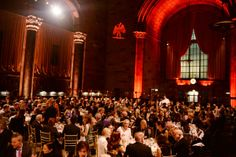 The atmosphere at Cipriani for the Paris Review 2014 Spring Revel.