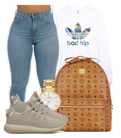 """Fck him,now my only Wish is that I never Met him."" by bria-myell ❤ liked on Polyvore featuring adidas, MCM, Kate Spade and adidas Originals"