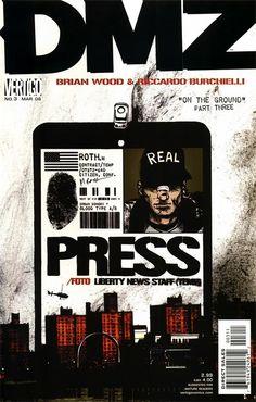 DMZ/Covers - DC Comics Database