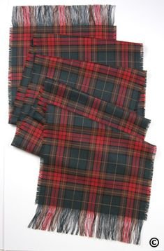 Irish County Cavan Tartan Sash