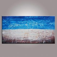 Oil Painting Abstract Oil Painting Canvas Art  Framed Art Landscape Painting Abstract Art Impasto Texture Palette Knife Art