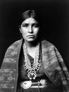 Navajo Woman wearing beautiful jewellery just stunning