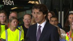 Justin Trudeau announces $1.49B for public transit funding in Ontario…