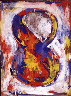 This art relates to the work I have done because the colors are bright. Having bright colors in your work makes it stand out and makes it more appealing to the audience. The formal elements in most of Jasper John's work are color and shape. Many of Jasper's work are shapes. Even though the colors are seemingly random, they compliment each other well.