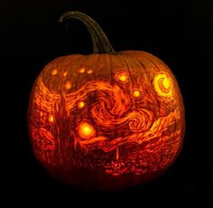 These Artists Are Carving Incredibly Detailed, Art-Historical Pumpkins Awesome Pumpkin Carvings, Easy Pumpkin Carving, Pumpkin Art, Pumpkin Crafts, Pumpkin Ideas, Pumpkin Spice, Diy Halloween Decorations, Halloween Crafts, Easy Halloween