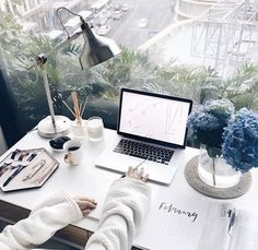 Our feature this week is from the desk of: - is exclusively for the girl bosses, cool corporates and business babes! Be sure to use to have your business featured from your home office. Desk Inspo, Desk Inspiration, Study Desk, Study Space, Work Desk, My New Room, My Room, Ideas Prácticas, Diy Home
