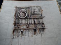 Ian Murphy Sketchbook work