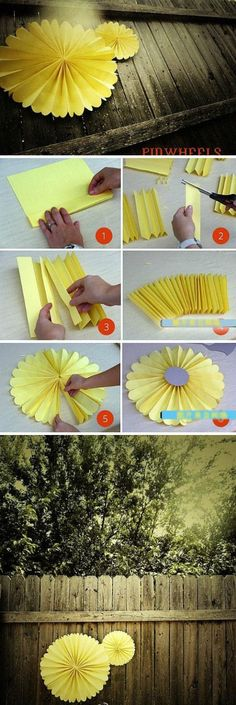 DIY Pinwheels diy crafts home made easy crafts craft idea crafts ideas diy ideas…