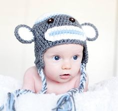 sock monkey - @Kat Goldin I don't know if you're looking for more designs, but this is super cute!
