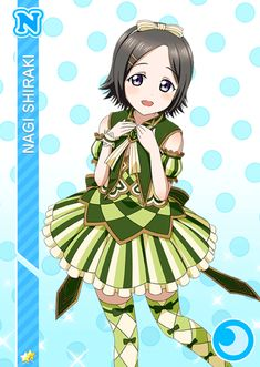 #1199 Shiraki Nagi N idolized