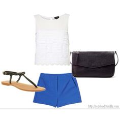 Eleanor Calder inspired summer outfit   # Pin++ for Pinterest #