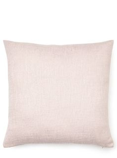 Pale Pink Hopsack Cushion