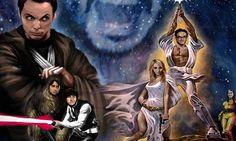 Sheldon, Leonard, Howard y Raj se volerán locos ante el estreno de <i>Star Wars: The Force Awakens</i>. La producción prepara episodio especial.