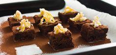 Nougat-Orangen-Brownies