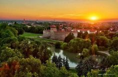 Gyula in Hungary - just 25 min away from our rural retreat All Family, Family Trees, Rural Retreats, I Want To Travel, Beautiful Sunset, Holiday Destinations, Holiday Travel, Homeland, Budapest