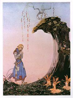 kay nielsen | Kay Nielsen – Fantasy Fairy Tale Illustration