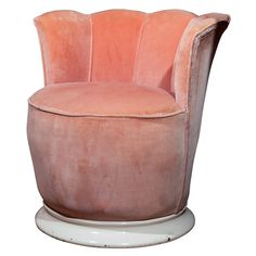 French Boudoir Chair- would love this under my glass vanity!