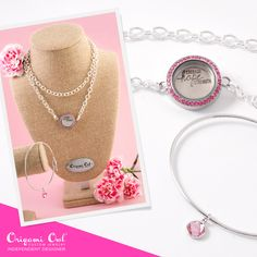 Origami Owl October Specials What Is The Origami Owl Hostess Exclusive For October San Diego. Origami Owl October Specials Where Are My Collectors At . Origami Owl New, Origami Owl Business, Origami Owl Lockets, Origami Owl Jewelry, The Pink Store, Awareness Ribbons, Cancer Awareness, Locket Bracelet, Heart Chain