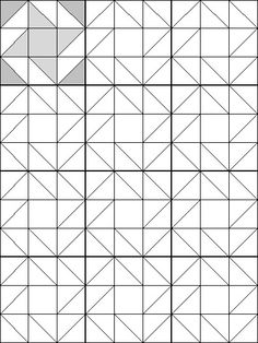 Quilt Block Coloring Page