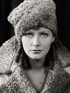 Greta Garbo. by George Hurrell