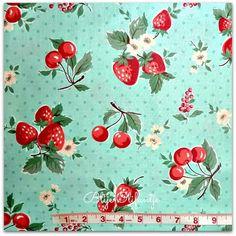Yuwa Atsuko Matsuyama Big Strawberries Color B by BlijeOlifantje