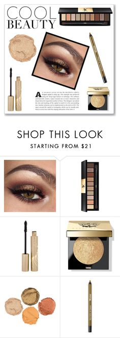 """""""Bronze Beauty+2 Shoutouts+RTD"""" by novascotias4ever ❤ liked on Polyvore featuring beauty, Yves Saint Laurent, Stila, Bobbi Brown Cosmetics and NSBeauty"""