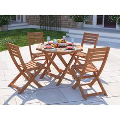 Found it at Wayfaircouk Henley Manhattan 4 Seater Dining Set