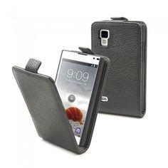 Capa LG Optimus L9 Muvit Slim - Preto.  12,99 €
