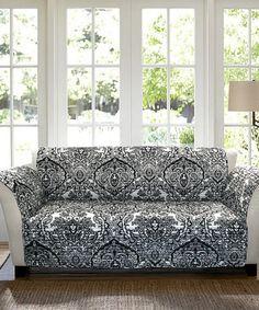 ideas furniture covers sofas. Lush Decor Jaipur Ikat Slipcover/Furniture Protector For Sofa, Turquoise/Rust Ideas Furniture Covers Sofas