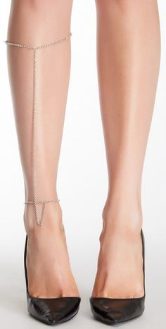 Leg chain.. I like the idea of this but not quite THIS if that makes sense?