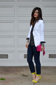 Forever-21-jeans-white-zara-blazer-star-print-h-m-kids-shirt-coach-purse