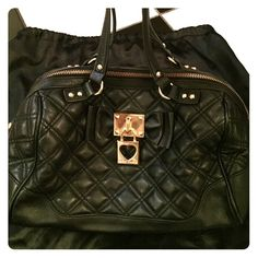 Black Betsey Johnson purse! Black Betsey Johnson purse! Great condition. Please use offer button. Ask all questions before purchasing. Thanks! Betsey Johnson Bags Shoulder Bags