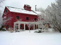 Love to live in an old renovated barn!