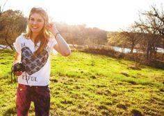 Lace Heart T-shirt DIY Fashion